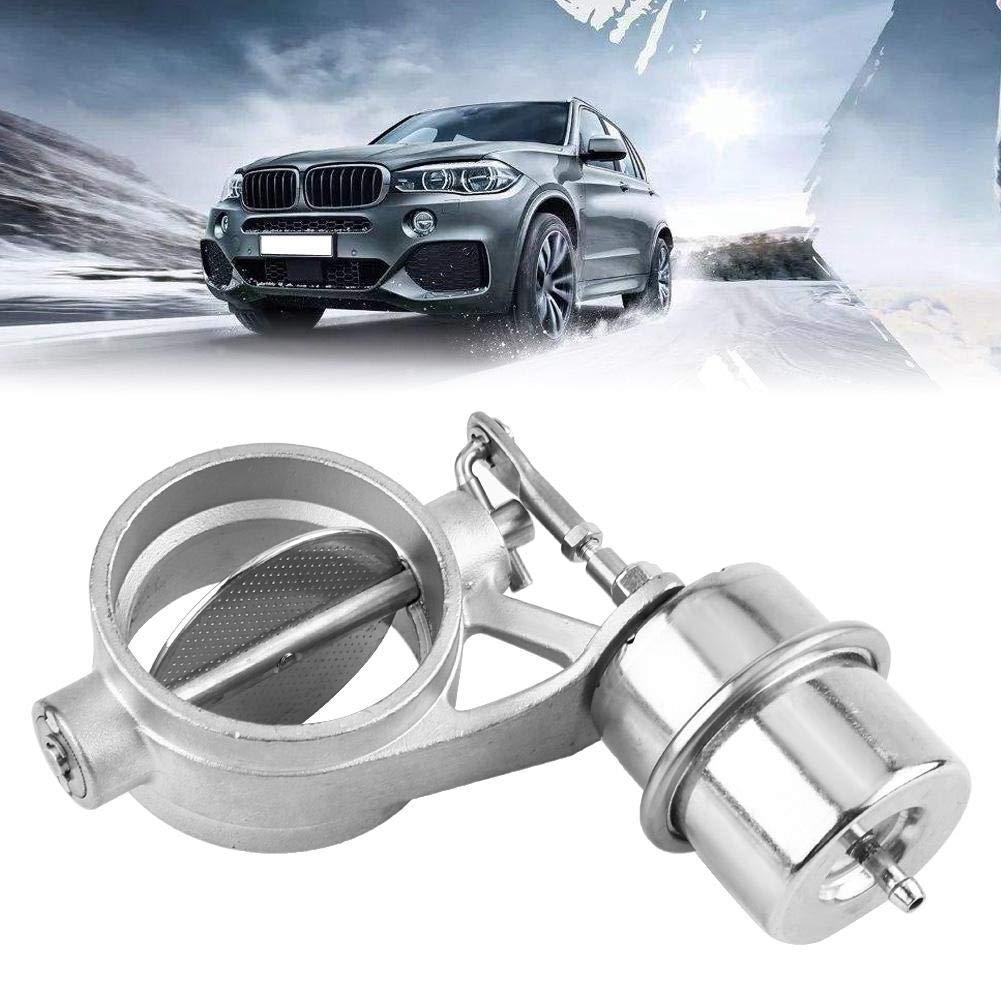 Duokon Universal Car Exhaust Control Valve close 2.5 Fits 63mm D Pipe Vehicle Accessory Vacuum Suction