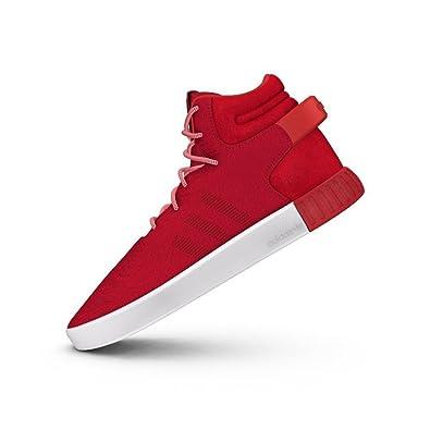 big sale 26c91 b54d3 adidas Originals Tubular Invader Mens Hi Top Trainers Sneakers (UK 3.5 US 4  EU 36
