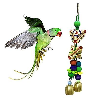 Kalaokei - Jaula Colgante para pájaros y Loros: Productos para mascotas