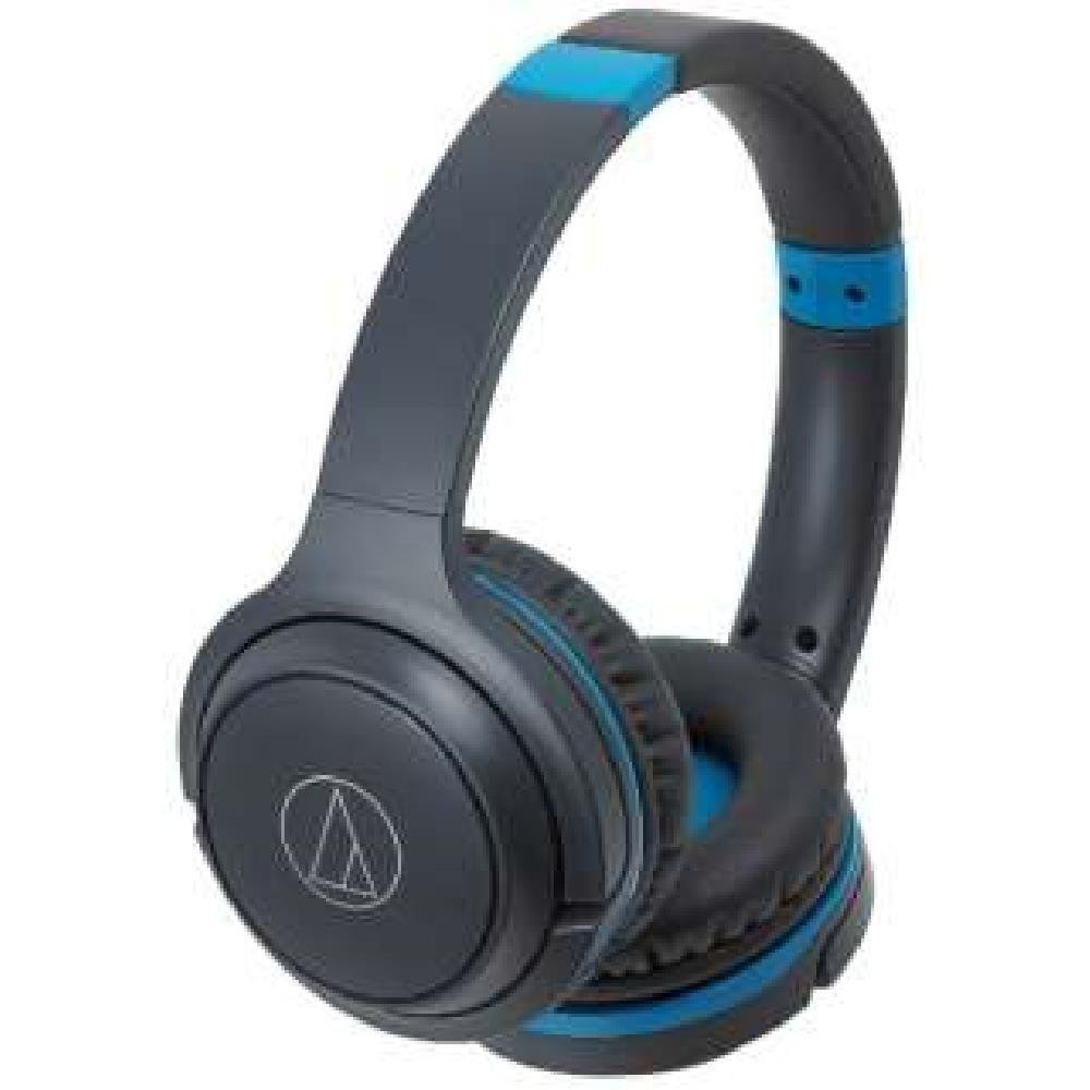 Audio-Technica Bluetooth Wireless Headphone ATH-S200BT-GBL (Gray Blue)【Japan Domestic Genuine Products】 ATH-S200BT GBL
