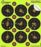 10 reactive splatter targets - Splatterburst Targets - 3 inch Adhesive