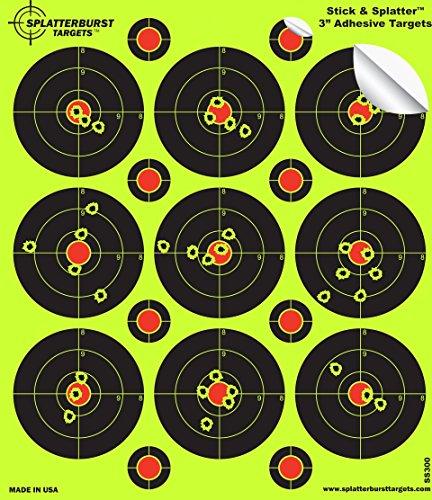 8 bullseye splatterburst target - 2