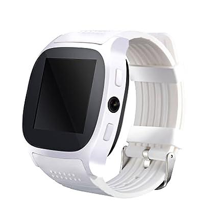 Amazon.com: Bluetooth T8 reloj inteligente podómetro con ...