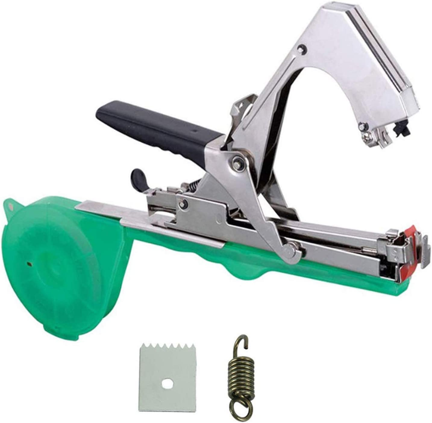 Tying Machine, Plant Tying Tool Garden Vine Tying Tape Tool Agriculture Tapener Hand Binding Machine for Tomato Fruits Vegetables,Vine Branch Tying Hand Tape Tool,Mode1