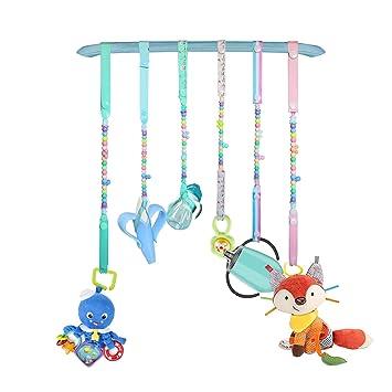 Amazon.com: 6 correas de juguete para bebé, para silla alta ...