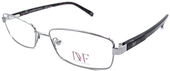 Amazon.com: Dvf Diane Von Furstenberg Rx Eyeglasses Frames 8003 015 ...