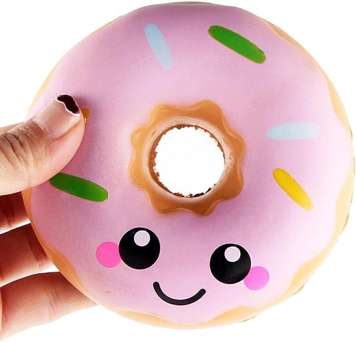 LULIKA Cartoon Donut Pinc/éE Pression D/éCompression Jouet Lente Rebond Pu Jouet