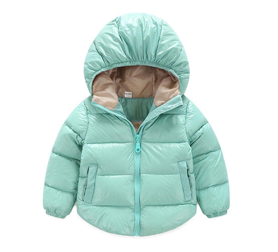 2177970be Amazon.com: TAIYCYXGAN Baby Boys Girls Winter Puffer Coat Kids Thicken Down  Jacket Outwear: Clothing