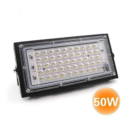 Galapara 50W Foco led Exterior, AC175-265V 6500K focos led ...