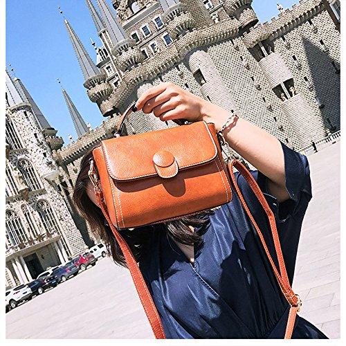 Mimi Puro Donne Cuoio Di Piccola A Colore Rosso Dell'unità Tracolla Spalla Stile Re Tote Elaborazione Modeling Bruno Borsa twSR8qw