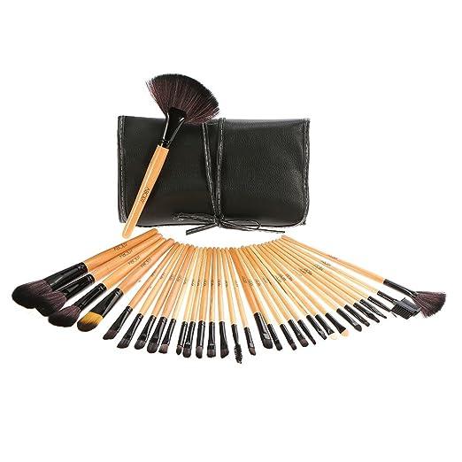 330 opinioni per Abody Professionale Make Up Set- 32 PCS Trucco Cosmetica Spazzole di Trucco Set
