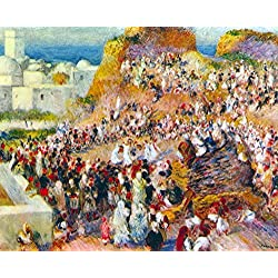 The Museum Outlet - The mosque (Arabian Fest) by Renoir - Poster Print Online Buy (24 X 32 Inch)
