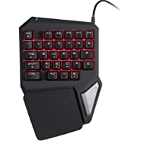 KKmoon Delux Computer Gaming Keyboard USB Wired Keypad E-sport Gamer Keyboard Gameboard 29 Key LED Backlit for LOL