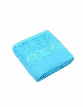 Toalla de algodón Simple Absorbente Toallas Suaves Grandes 140 * 80 cm Espesar los Hombres y