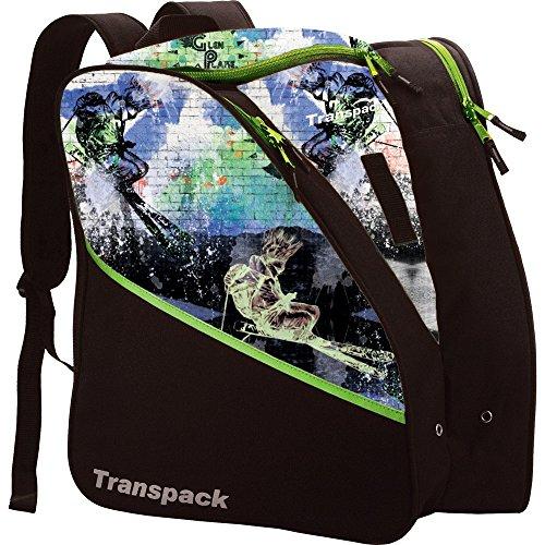 Transpack Edge Junior Ski Boot Bag 2019 - Glen Plake Lime