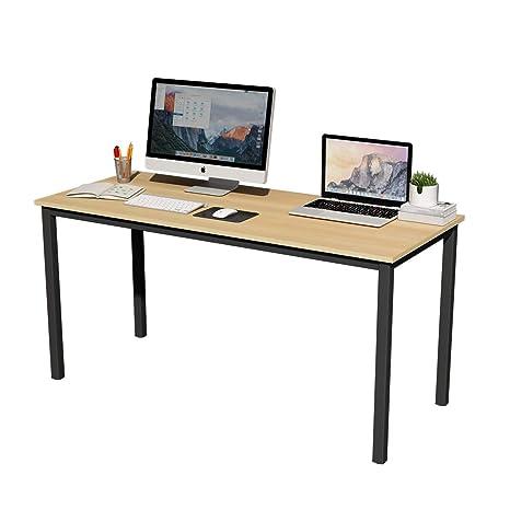 Amazon.com: Soges - Escritorio de escritorio largo para ...