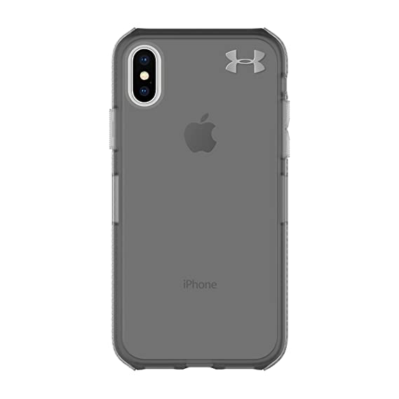 cheap for discount f6fbc 7fb29 Under Armour UA Protect Verge Case for iPhone X - Translucent  Smoke/Black/Metallic