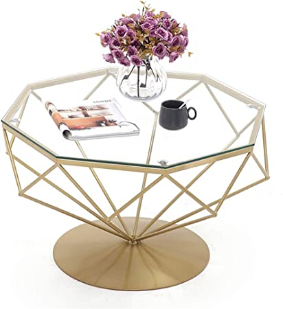 Petite Table Basse Tables De Bout En Verre Trempe Transparent
