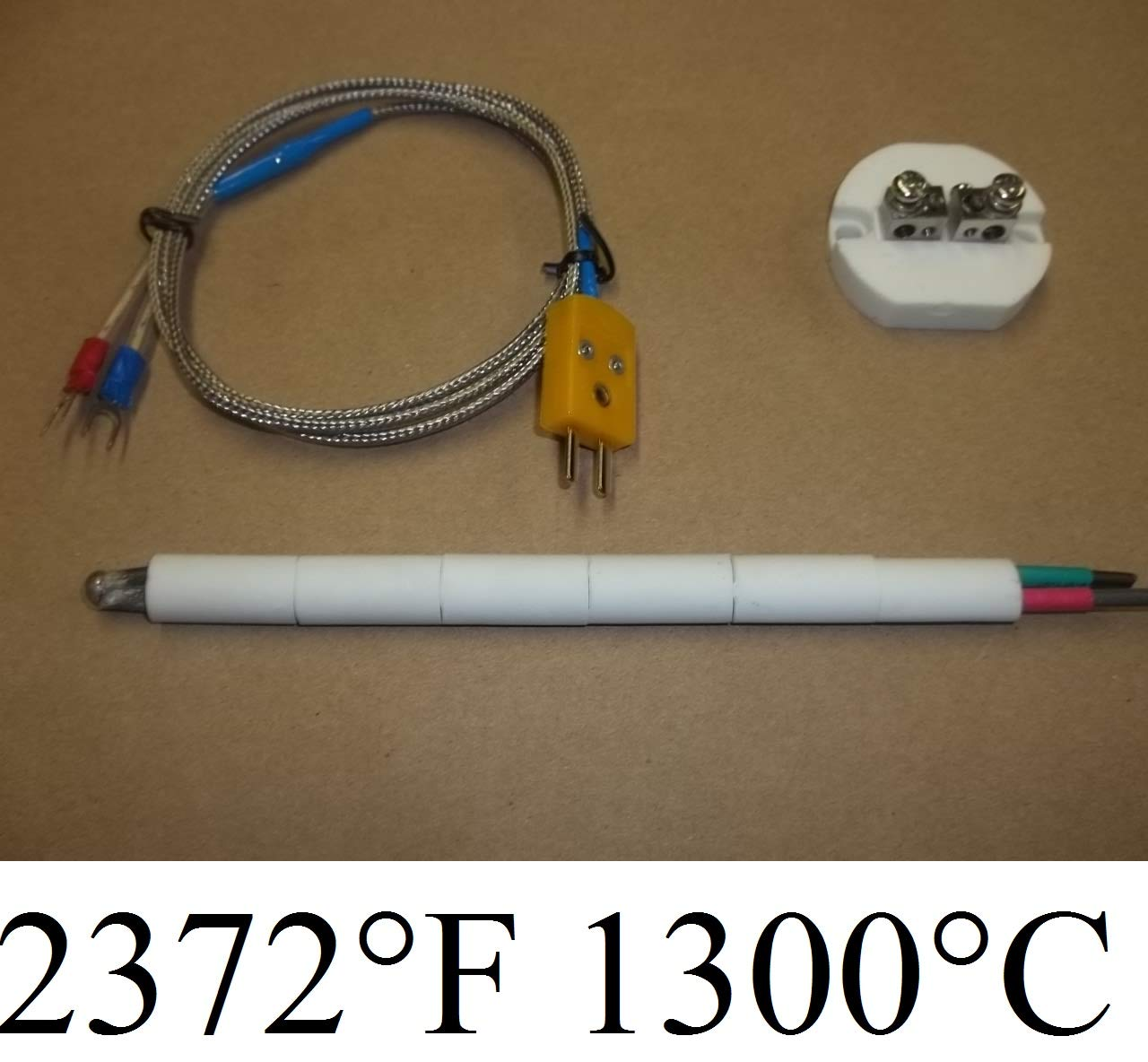 Thermomart Plug /& Play PID Temperature Controller Box Kiln Probe Pottery Glass Annealing