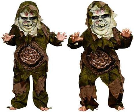 ZYH994 Disfraz de Terror Vestidos de Halloween Scary Zombie Ghost ...