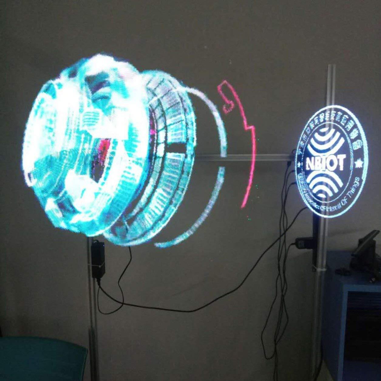 Universal LED holográfica Proyector portátil Holograma 3D ...