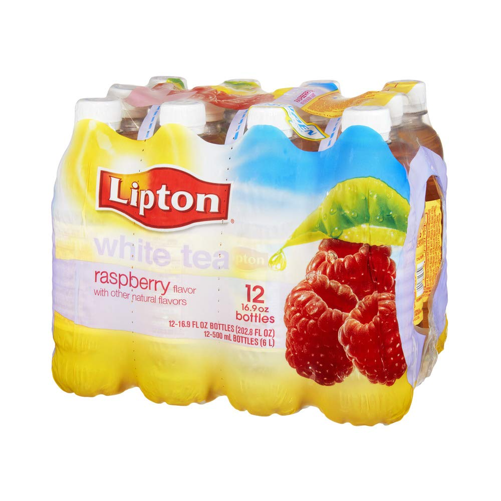 Lipton Raspberry White Tea, 12 Count - 4 Pack by Lipton