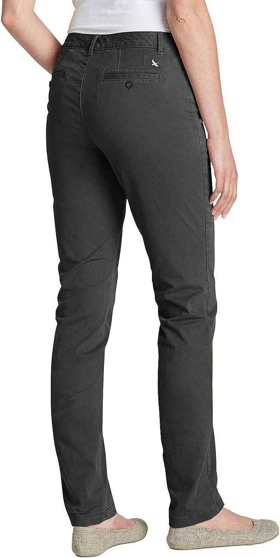 Eddie Bauer Women's Legend Wash Hose-Curvy Trouser Grey (Karbon 033)