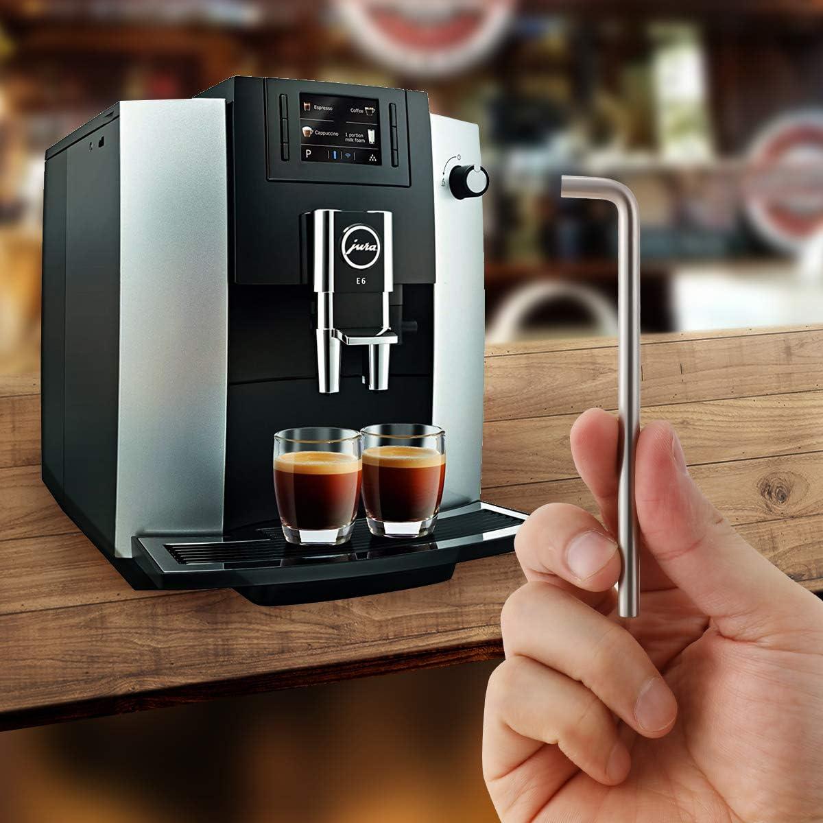 AIEVE Angle Wrench Herramienta de reemplazo de reparación de llaves de 4 mm Compatible con la cafetera Nespresso AEG Jura DeLonghi: Amazon.es: Bricolaje y herramientas