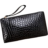 Matefield Women Classic PU Leather Plaid Clutch Lady Coin Long Purse Wallet Wristlets