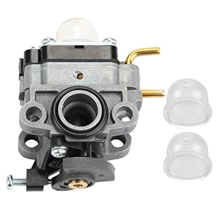 Hilom Carburetor Carb with Primer Bulb for Ryobi RY252CS RY253SS RY251PH  RY254BC Models 2 Cycle 25cc Gas String Trimmer Replace # 75306258A