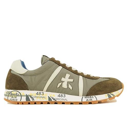 PREMIATA Herren Sneaker Grün Grün  Amazon.de  Schuhe   Handtaschen 458942f131