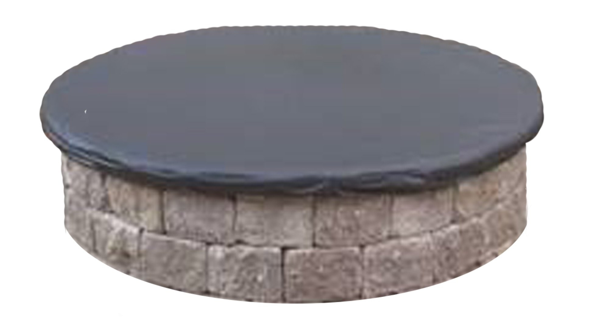 Equip, Inc. Custom Protective Cover for Round Fire Pit. Heavy Duty UV/Mold/Mildew/Water-Resistant Outdoor Cover by Equip, Inc.