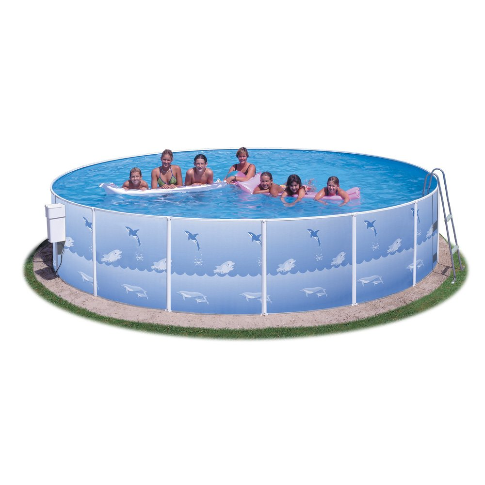 Splash Pools Heritage Pools 91,4 cm Komplett Paket Leiter 15-Feet by ...