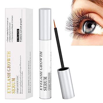 4e8a2c2e6ef Eyelash Growth Serum, 100% Natural Eyebrow Lash Enhancer Boost Rapid Growth  to Longer,