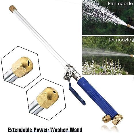 High Pressure Power Gun Water Spray Garden Hose Nozzle Car Clean Sprinkler Tool