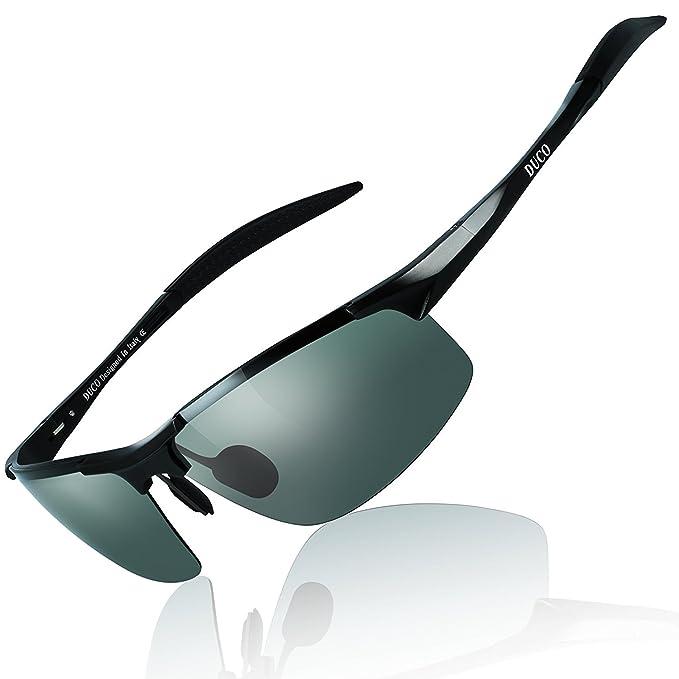 Duco gafas de conducción gafas de sol gafas de sol polarizadas deportes gafas pesca Golf Hombre