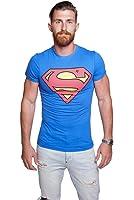 Course - Herren T-Shirt in Blau - Superman