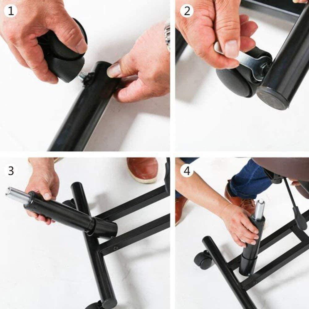Skrivbordsbord dator stol funktioner knäpall flexure stol krage stressavlastare student lära sig stol ryggradsstol knästol (färg: #2) nr2