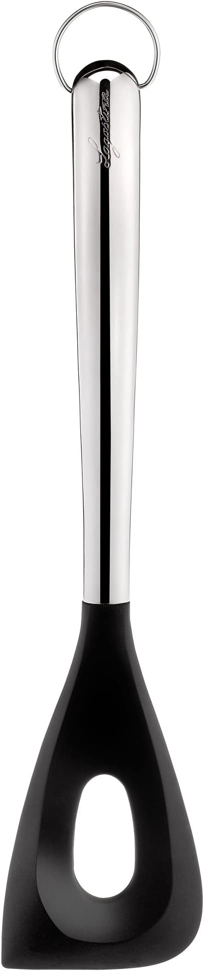 INOX 18//10 30 cm Noir Lagostina 11151620101 Cuillere A Risotto Argent