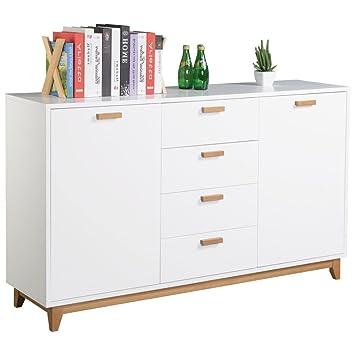 Xora Dresser Brown 150 X 34 X 38 Cm Wood Amazon Co Uk Kitchen