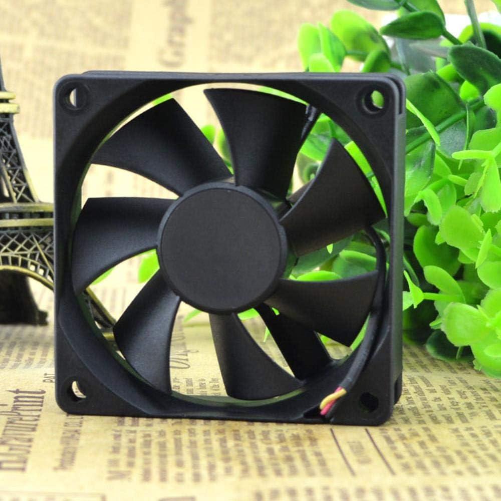 for SUNON Standard GM1207PKV1-AF DC12V 1.7W 3-Wire Cooling Fan Ultra Quiet