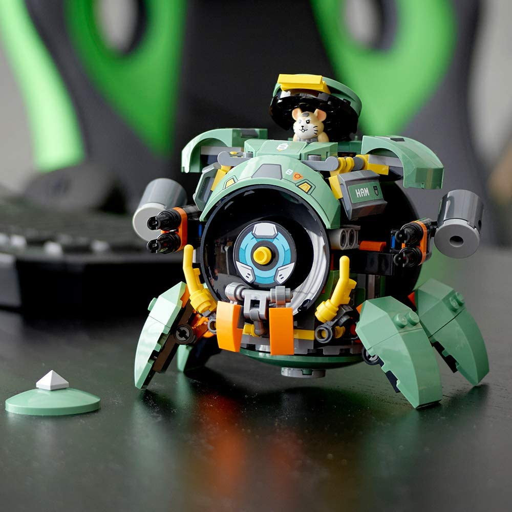 LEGO Overwatch Wrecking Ball 227 Pcs Building Kit Hammond Figure Action Cannons