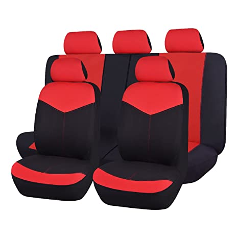 Amazon Com Flying Banner Mesh Universal Auto Car Seat Covers With