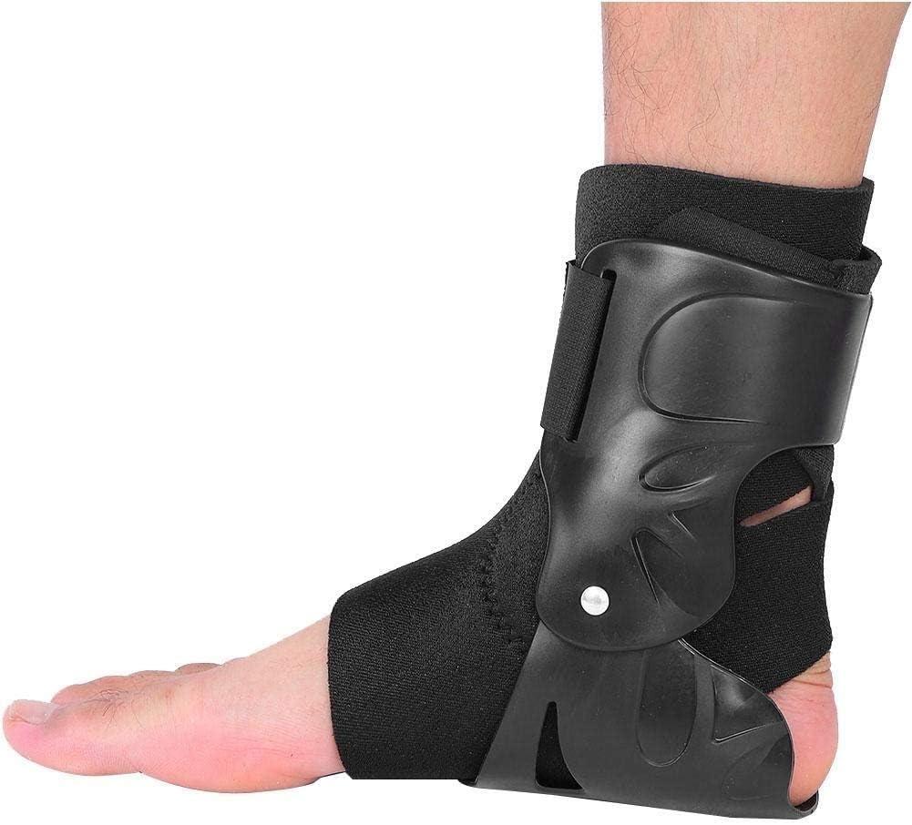 El soporte de tobillo se comprime, transpirable y cómodo, la manga del tobillo estabiliza los ligamentos, se usa para la rehabilitación de lesiones, dolor en las articulaciones con soporte de arco par