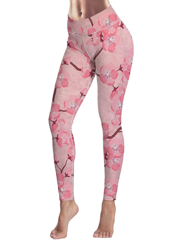 Custom Yoga Pants Leggings High Waist for Women Stretchy Skinny Pants Long Length Leggings for Running Sports