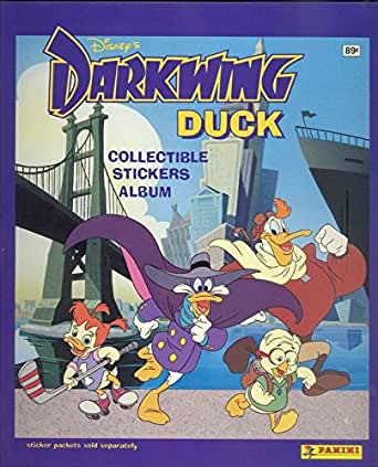 Darkwing Duck Panini Album Sticker Book With 20 Unopened Packs Trading Cards Stickers NonSport