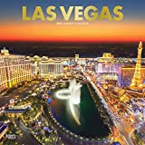 Las Vegas 2019 12 x 12 Inch Monthly Square Wall Calendar with Foil Stamped Cover, USA United States of America Nevada Rocky Mountain City (English, French and Spanish Edition)
