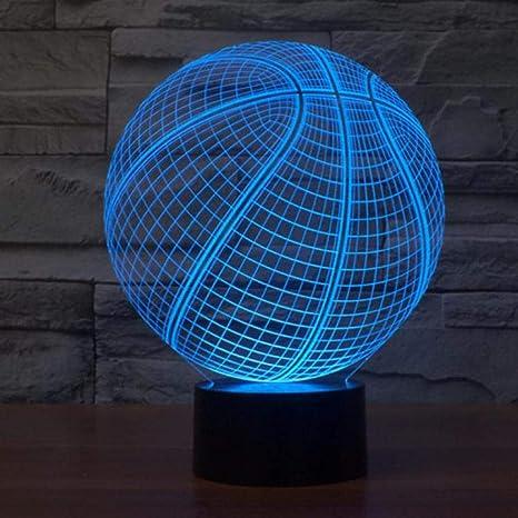 Sproud 16 Color Control remoto en Baloncesto negro Colorido Luz de ...