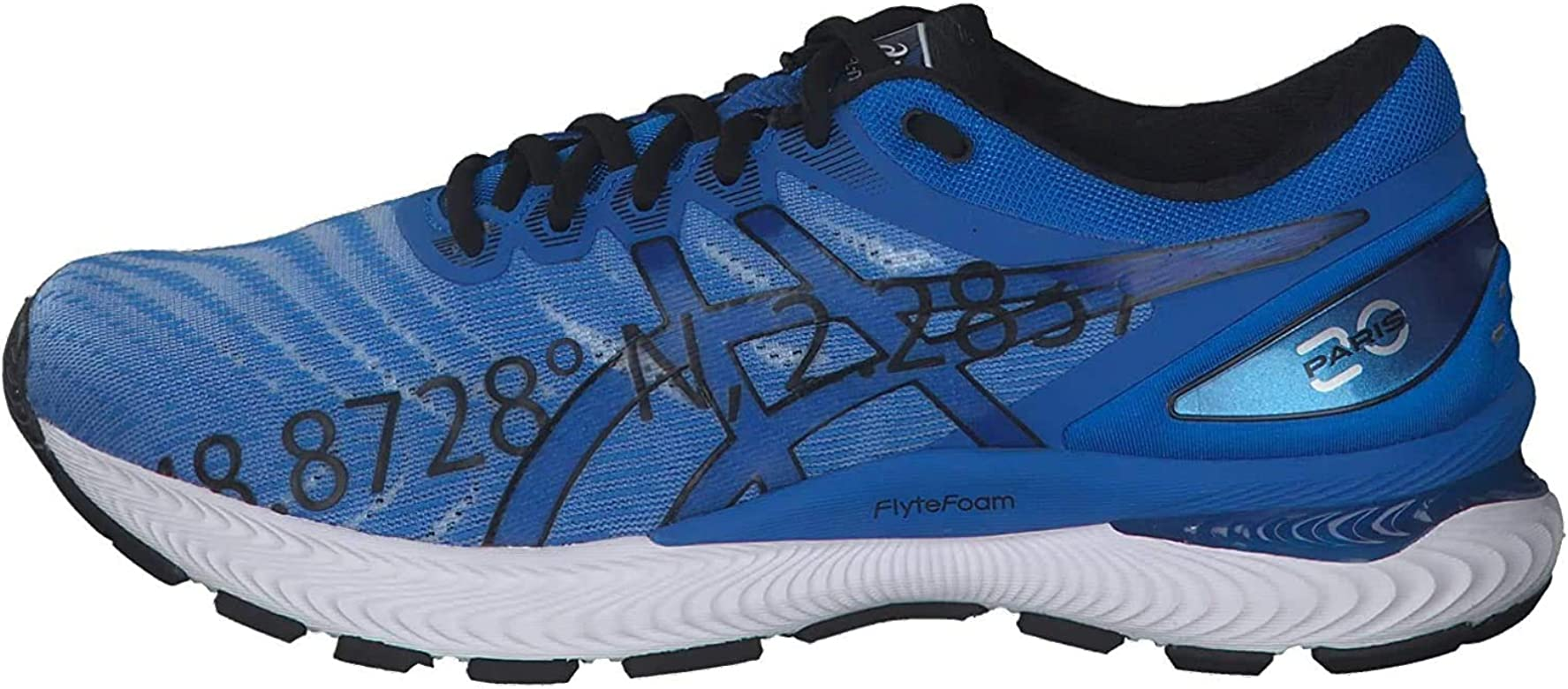 ASICS Gel-Nimbus 22, Zapatillas Deportivas para Hombre, Electric Blue/Electric Blue, 41.5 EU: Amazon.es: Zapatos y complementos