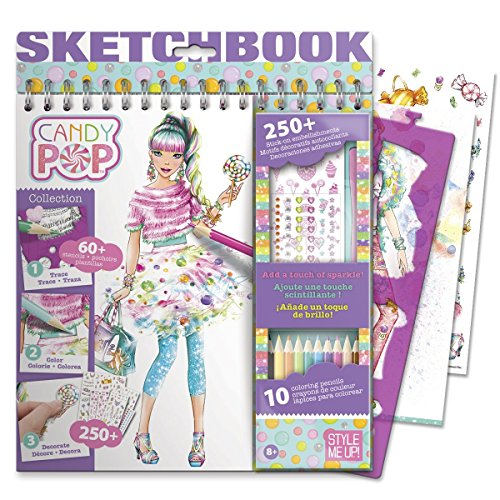 (Style Me Up! Candy POP - Sketchbook with Components)